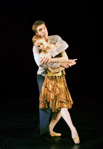Andrew Griffin and Jacqueline McConnell in 'Cognac'