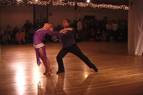 Stepping Out Studios April 25, 2008 Student Showcase Anatol Ritsevsky & Lori Ann Greenhouse (instructor) - Theatrical Rumba