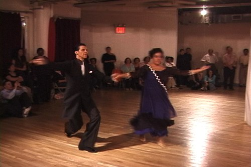Stepping Out Studios April 25, 2008 Student Showcase Susan Sci & Tony Scheppler (instructor) - American Waltz