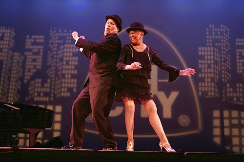 Tony Waag and Mable Lee