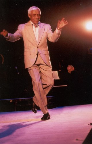 Dr. Jimmy Slyde, also inducted into the International Tap Dance Hall of Fame.
