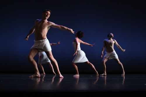 Keigwin + Company Dancers: Larry Keigwin, Ying-Ying Shiau and Andy Cook in Elements