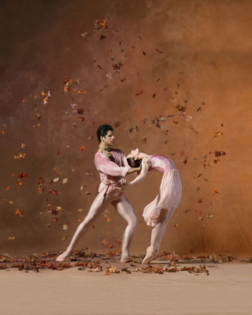 American Ballet Theatre From 'The Leaves are Fading' Julie Kent and Marcelo Gomes