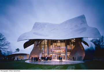 Frank Gehry's Richard B. Fisher Center for the Performing Arts