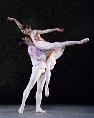 Julie Kent and Marcelo Gomes in 'Theme and Variations'