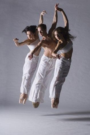 Tara Keating, Matthew Neenan and Christine Cox of BalletX