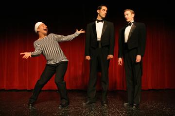 Left to right: Ryan Kasprzak, Derek Roland, Brent McBeth