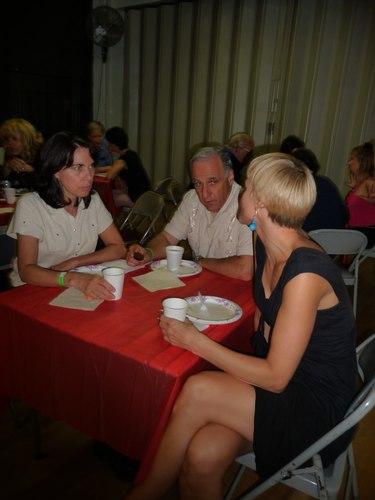 Socializing over food