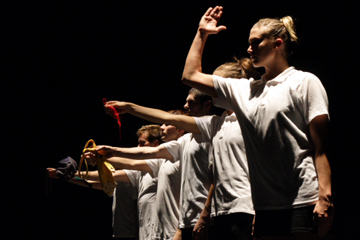 MOVE: the company in 'Trap Door Party'