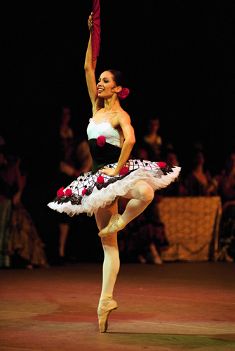Diana Vishneva from 'Ballerina' Directed by Bertrand No Diana Vishneva in 'Ballerina' Bertrand Normand, France, 2007; 77m First Run Features  First Run Features