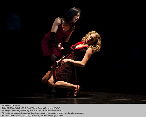 Parsons Dance / East Village Opera Company in 'Remember Me' AnnMarie Milazzo, Abby Silva