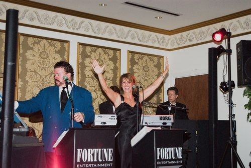 Fortune Entertainment, the evening's live band