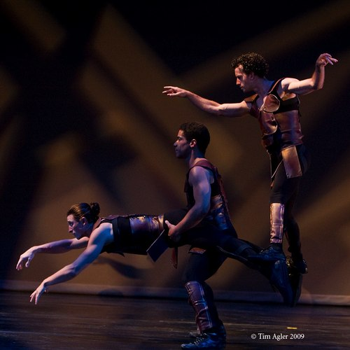 'Fiddling While Rome Burns' performed by Lux Aeterna Dance Company