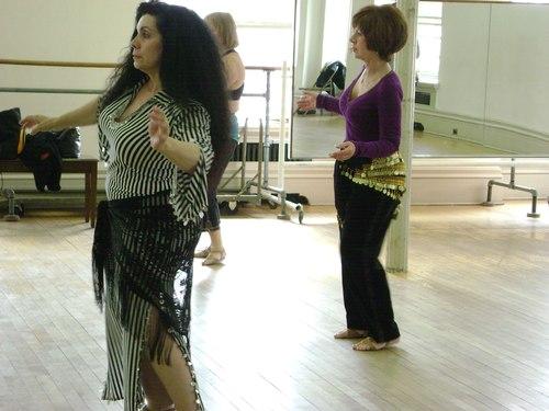 Joanna Sabatowicz's Belly Dance Class