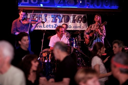 The world renowned SAVOY CAJUN BAND playing at Connollys, with Cajun dancing in the forefront.
