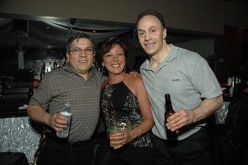 Louie Crespo, Diana Ciamarra and Sal Riccio