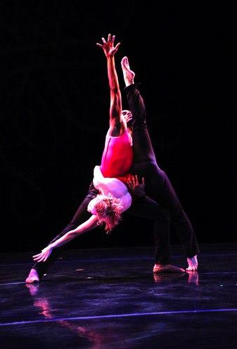 Helen Hansen and Kyle Robinson in Buglisi's 'Interplay No. 9-1'