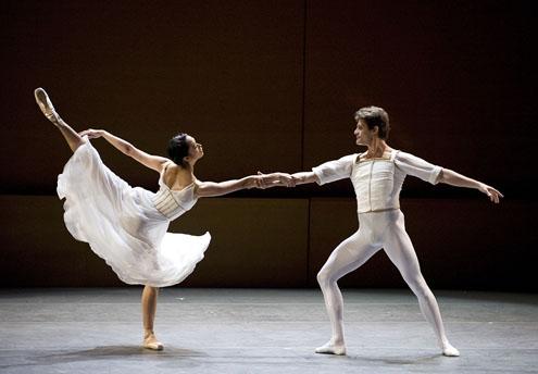 Stella Abrera and Gennadi Saveliev in 'Seven Sonatas'