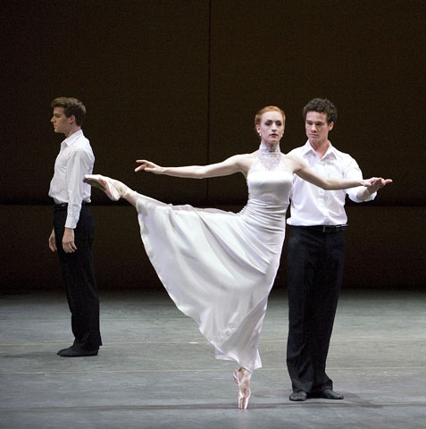 Eric Tamm, Gillian Murphy, and Cory Stearns in 'One of Three.'