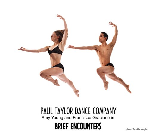 Amy Young and Francisco Graciano in the Paul Taylor Dance Company's 'Brief Encounters'
