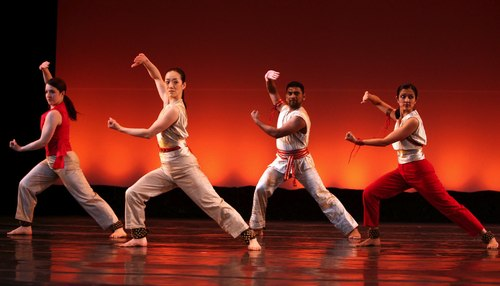 Parijat Desai Dance Co. in QUIET/FIRE Courtesy MasalaJunction.com & IAAC