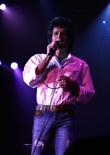 Gino Vannelli, a singer lyricist/conductor/composer who lives in the Netherlands, entertains his international audience with a warm, personal style