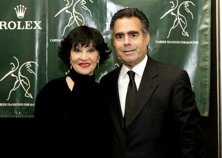 CTFD Gala - Chita Rivera and Allen Brill, President and CEO of Rolex Watch U.S.A., Inc.