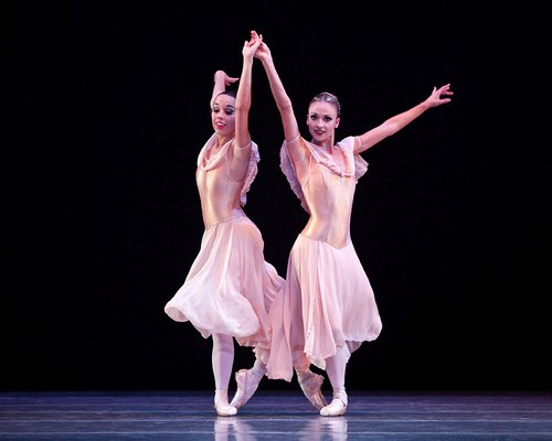 Metropolitan Classical Ballet - Paul Mejia's Brahms Waltzes.  Dancers: Brittany Bollinger and Sunni Wright