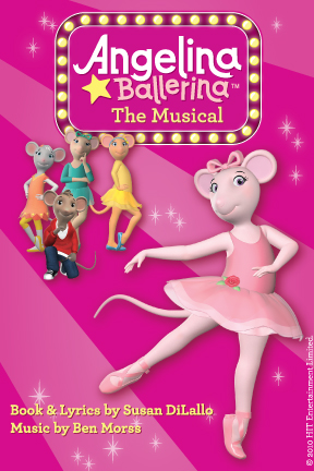 Angelina Ballerina - The Musical Show poster